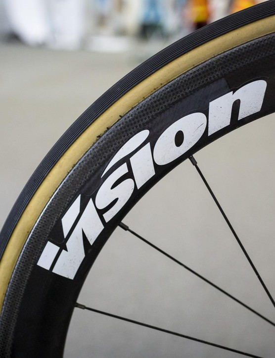 Education First-Drapac p/b Cannondale has swapped Mavic hoops for Vision for 2018