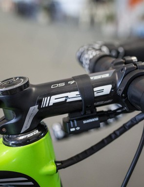 Docker chooses a 120mm alloy FSA stem