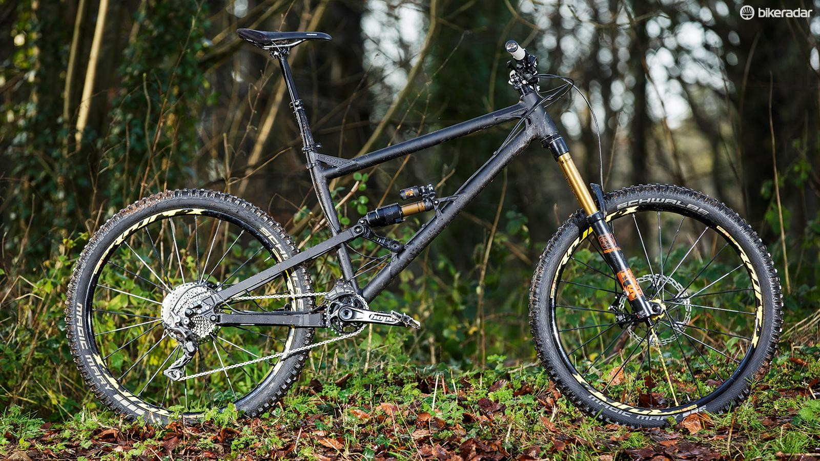 Radical mountain bike geometry is becoming more mainstream, but Mojo/Nicolai's GeoMetron is pushing the envelope