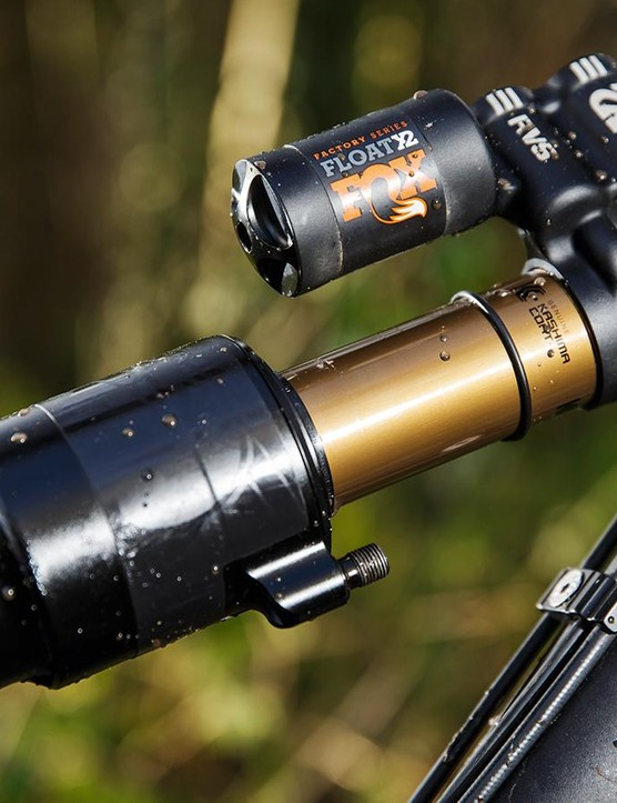 The Fox Float X2 shock works a treat in Nicolai's Horst-Link housing