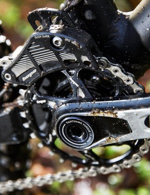 Completing the impressive specification is Hope's new forged crankset