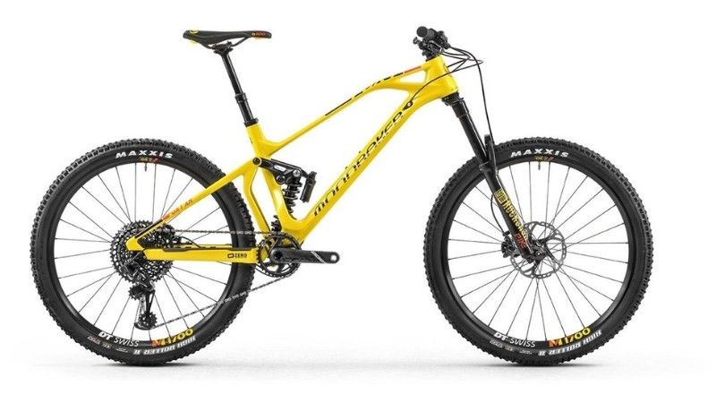 The Mondraker Foxy Carbon XR is eye-catching and an absolute steal for this price