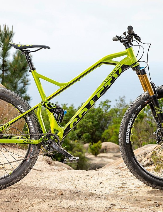 Mondraker's Crafty RR+ has the makings of a top-drawer enduro machine, though we'd make a few tweaks