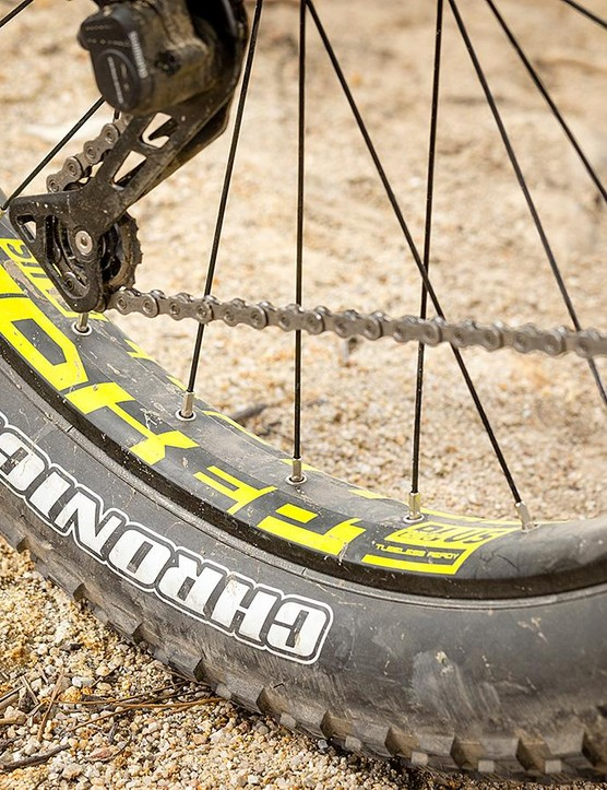 Maxxis' Chronicle tyres lack cornering bite but roll quickly