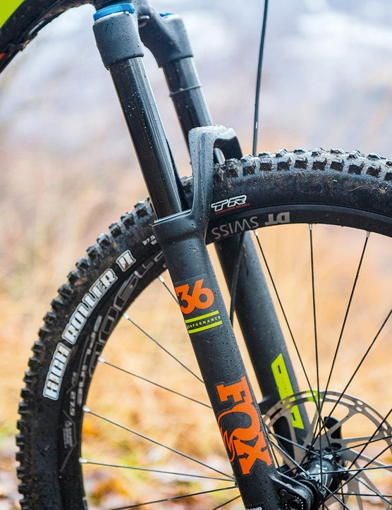 The Fox 36 Performance fork is no FIT4 but it's solid enough