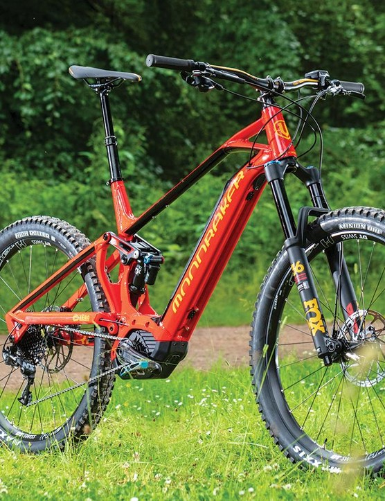 Fox's 36 E-Bike has stiffer, thicker-walled stanchions than the standard 36 fork