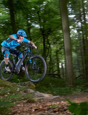 The Mondraker is exceptionally stable at speed, with only the flexy RS-1 limiting its abilities