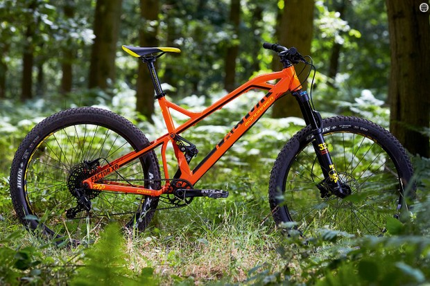 Mondraker's 'Forward Geometry' centres around a super-short stem at the end of a massively long-reach top tube