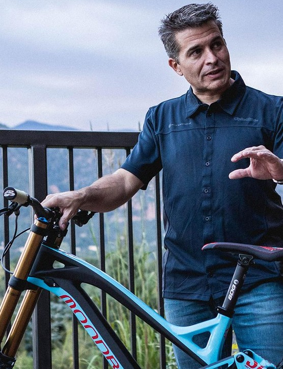 Miguel Pina founded Mondraker in 2001