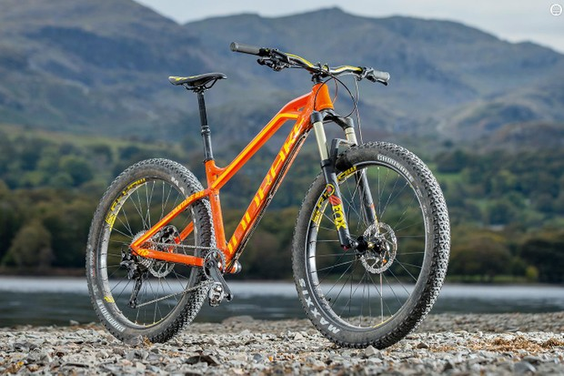 Mondraker's bracing but brutal Vantage hardtail gets some welcome extra cushioning in its plus-sized RR+ guise