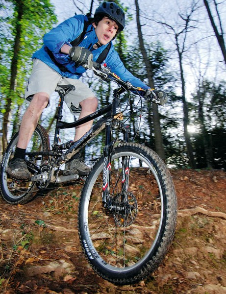 Mongoose Teocali Super is trail-blastingly sure-footed when things get silly under tyre