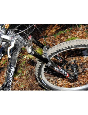 Marzocchi fork is a great, supple match to the rear end