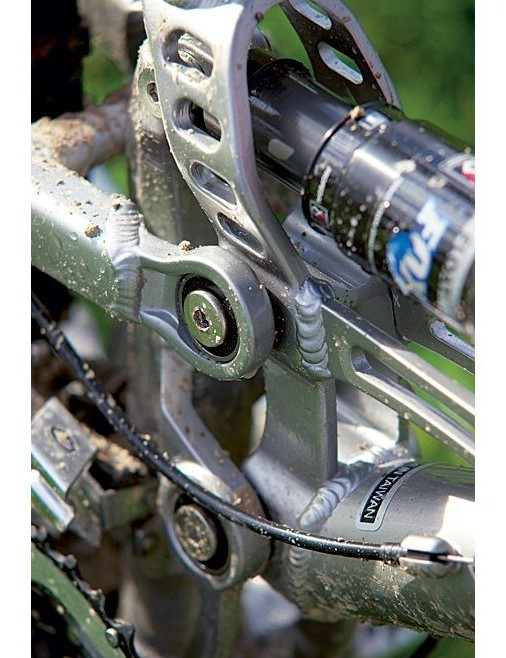 It's a good idea to check the pivot bolts, on any bike