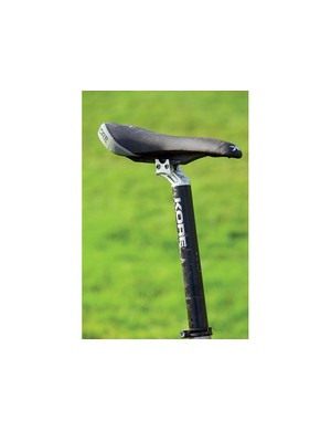 The I-Beam saddle/seatpost combo saves weight