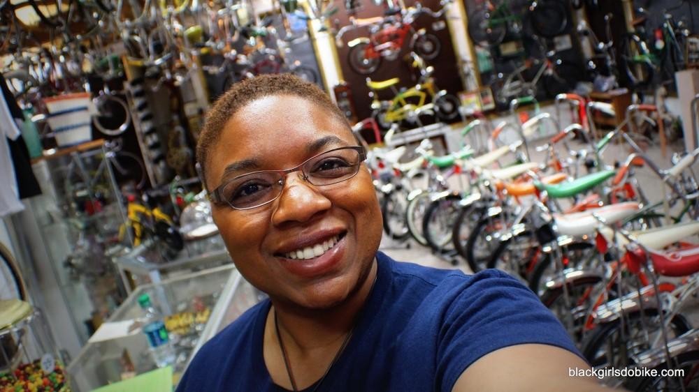 Black Girls Do Bike founder Monica Garrison