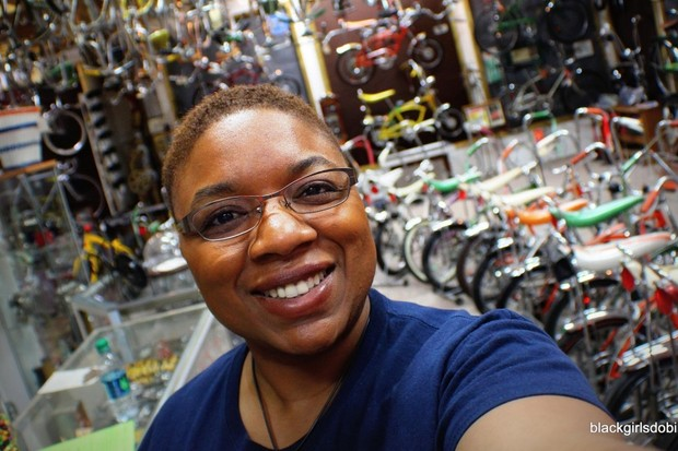 Black Girls Do Bike founder Monica Garrison