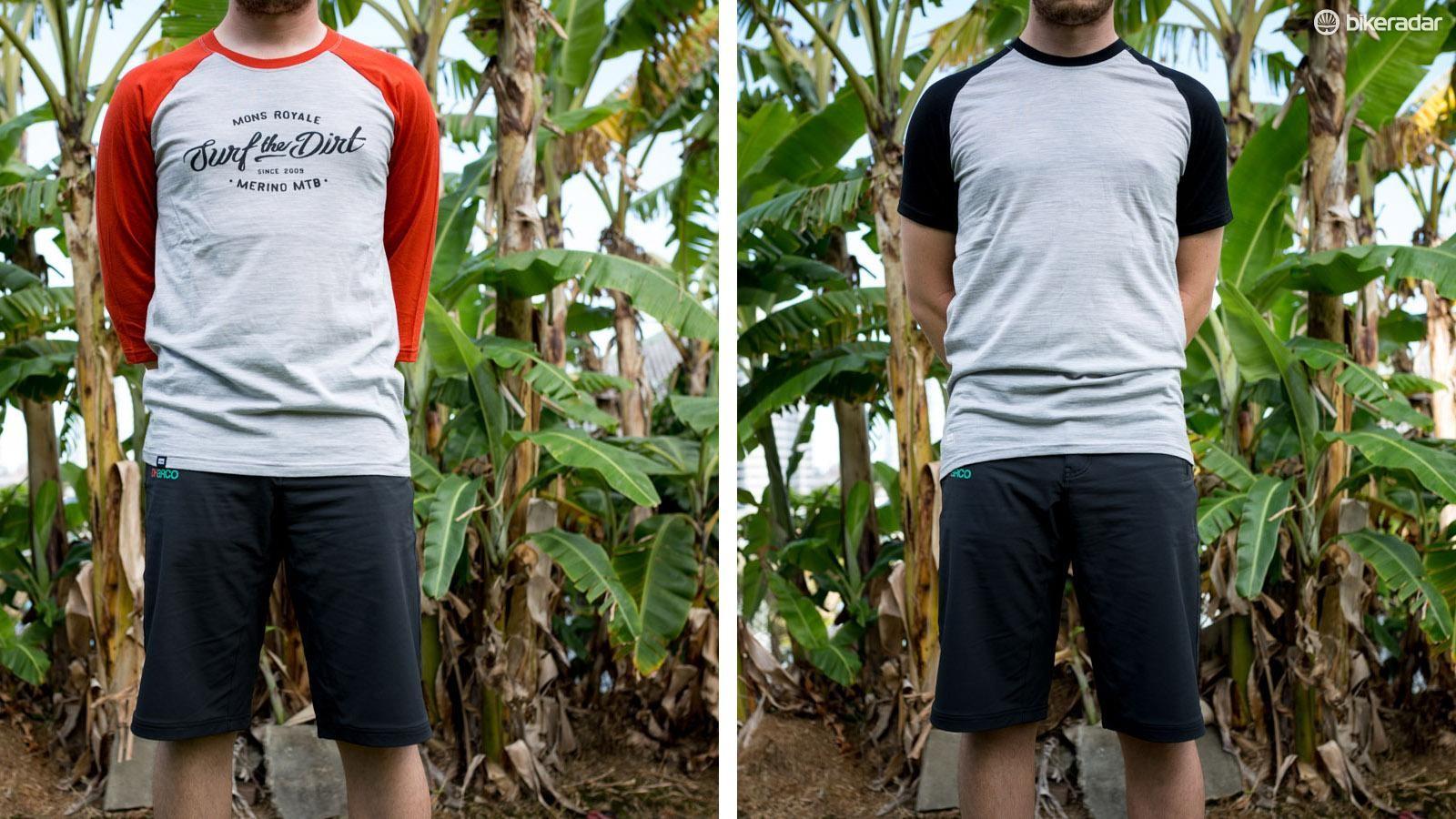 We've got New Zealand based Mons Royale's latest MTB jerseys