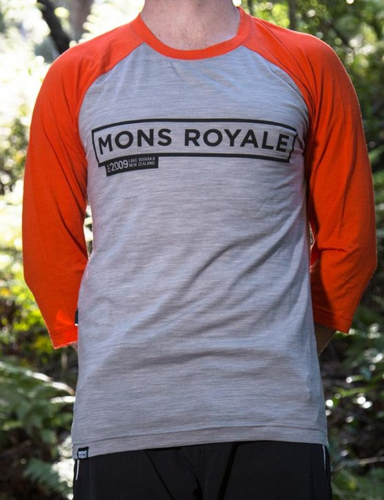 Mons Royale's Riders Raglan T is a stylish merino mountain bike jersey