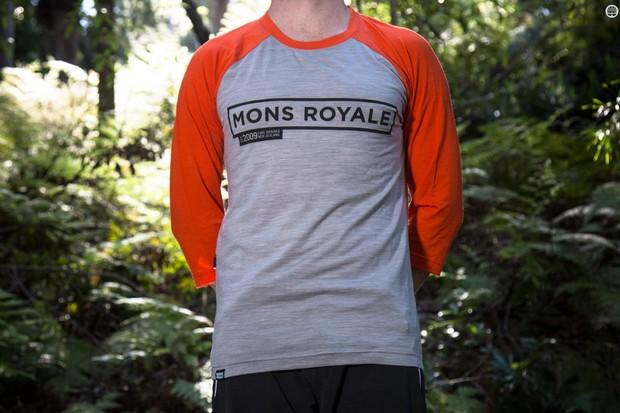 Mons Royale's Riders Raglan T is a stylish merino mountain bike jersey