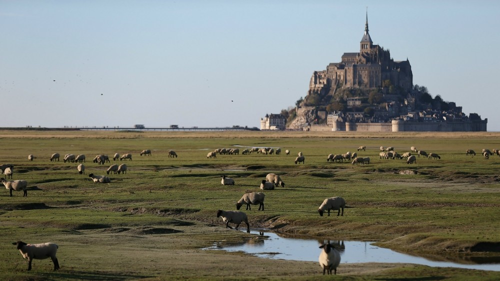 The Tour de France sets off from Mont-St-Michel in Normandy