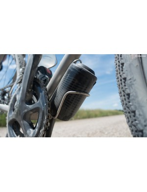 A Specialized Keg in the Routt 45's third bottle cage proved to be immensely useful