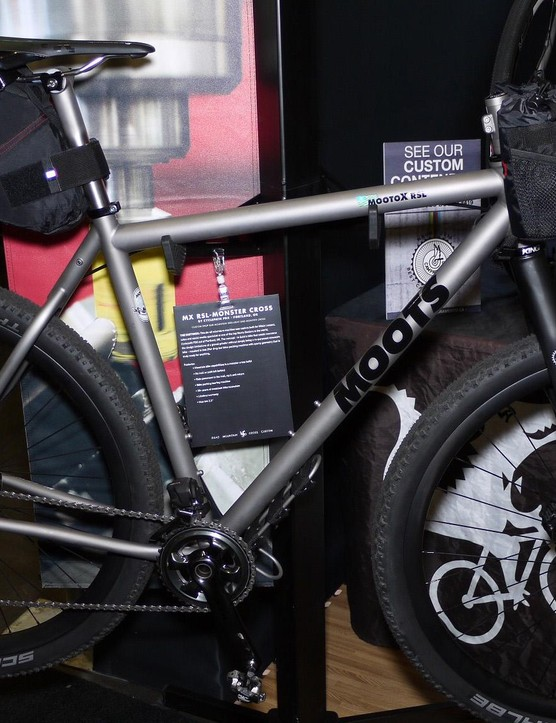 Moots' MootoX RSL monster cross is a bikepacking dream machine
