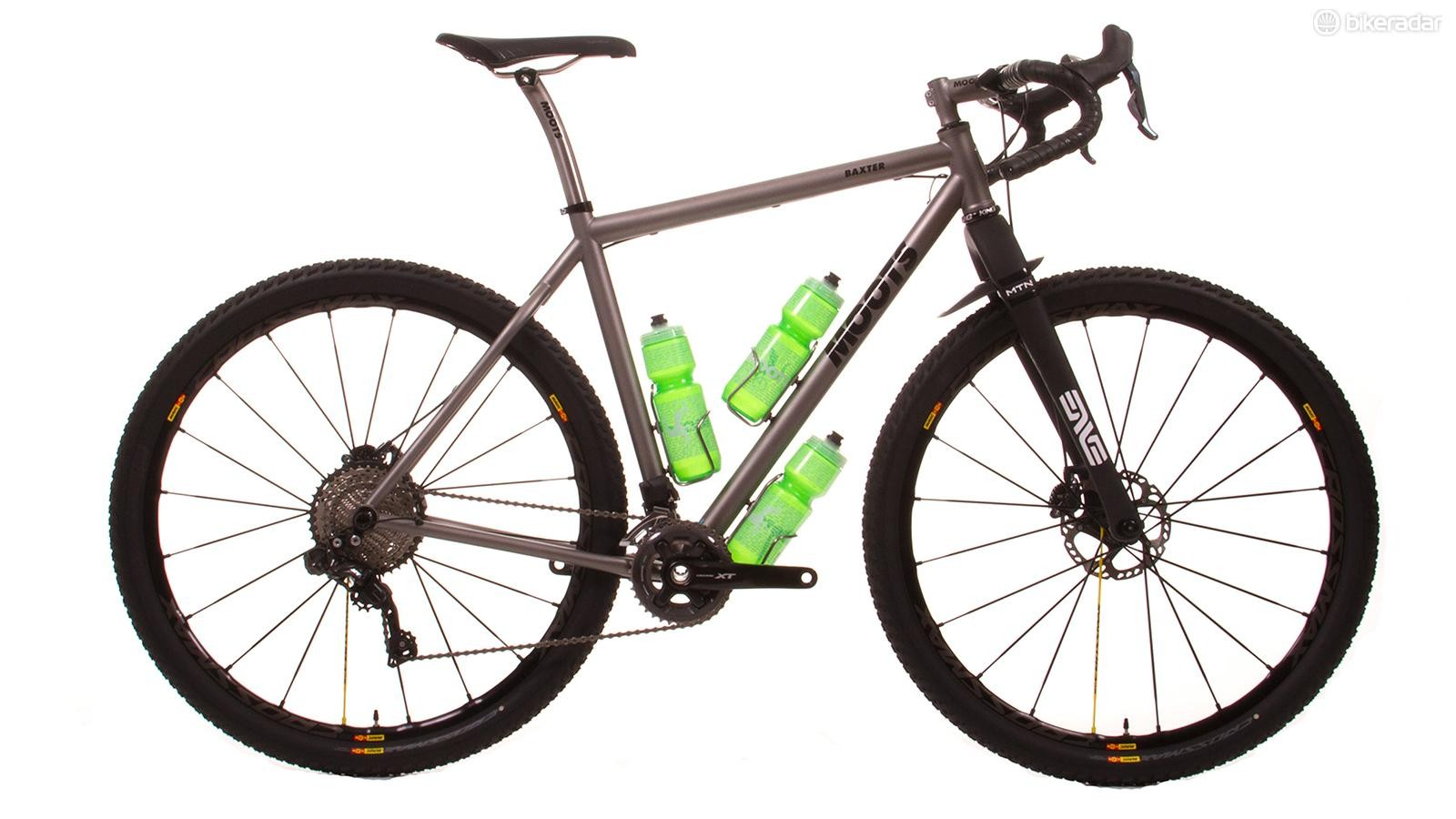 The Baxter is designed for weekend jaunts as well as ultra-endurance events such as the Tour Divide