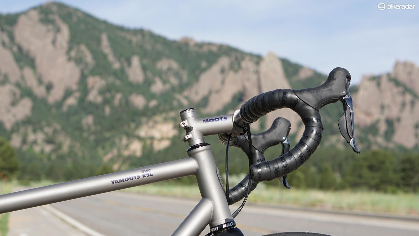 Moots builds titanium frames and parts in Steamboat Springs, Colorado