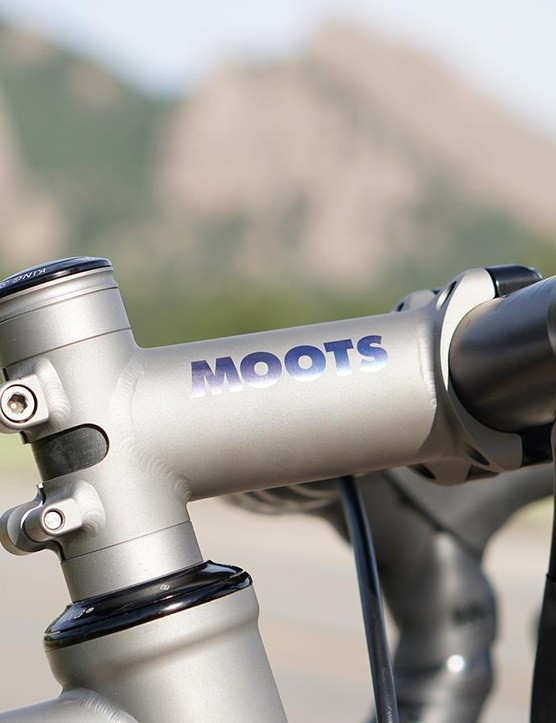 Smooth-welded titanium stem? You bet