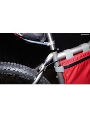 Taking the edge off of trail obstacles is handled by the YBB and the Mountaineer's volumnous three-inch tires