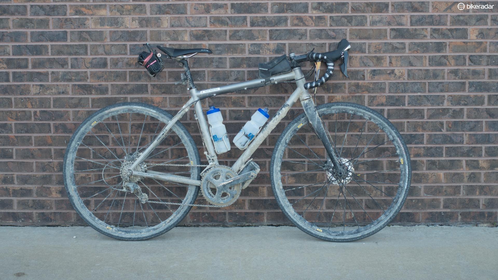 Moots Routt 45 for the Dirty Kanza 200 - BikeRadar