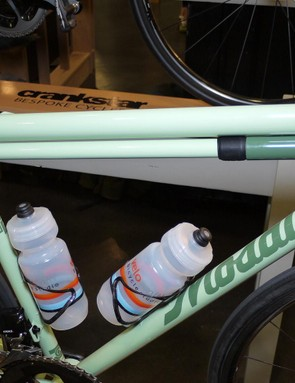 With matching Silca frame pump, seatpost and stem, the complete aesthetic of Mosaic's RS1 showstopper was hard to miss