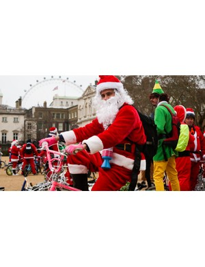 Signing up to a charity ride (fancy dress optional!) can provide a huge amount of motivation