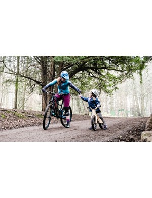 Riding with friends or family can be a great motivator