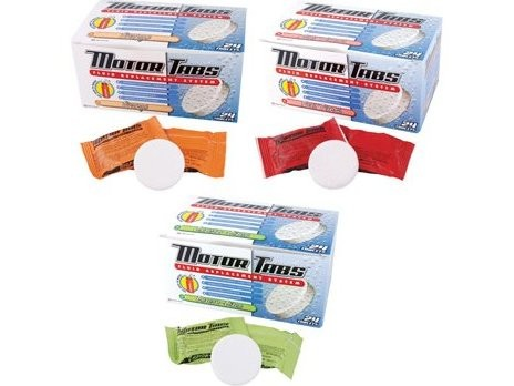 Motor Tabs Fluid Replacement System