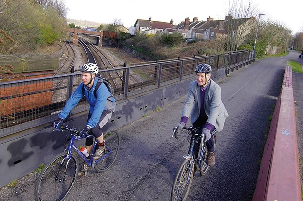 Cyclepath over Bristol motorway mooted