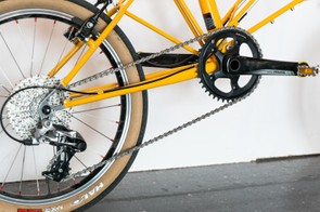 The bike is built around 1x Rival groupset