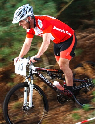 Mountain Trax rider