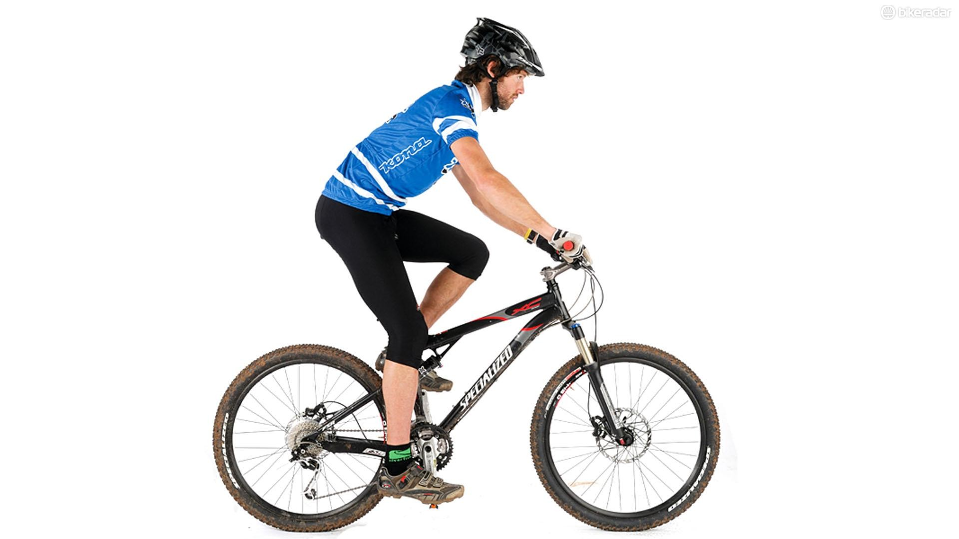 Comfort and performance are all tied into the fit of the mountain bike