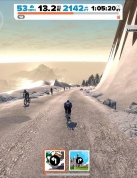 Zwift recently added a massive mountain to test your mettle on
