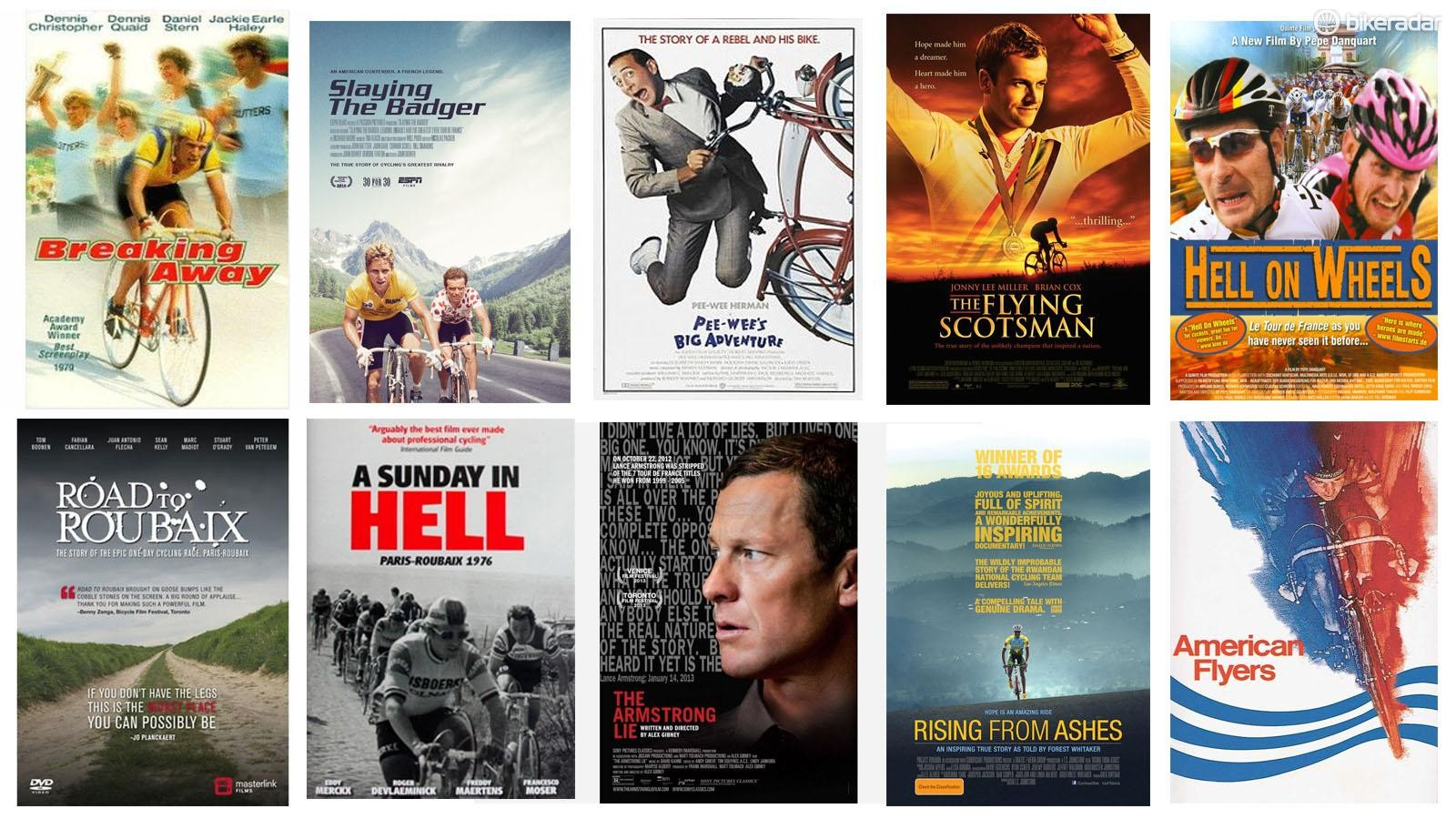 Here are a few of our favorite cycling films