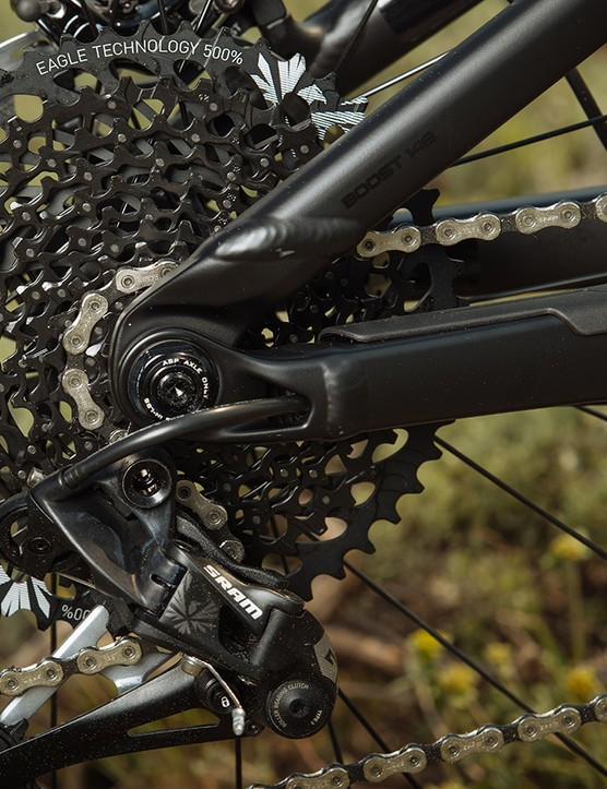 Trek's Active Braking Pivot is still found out back