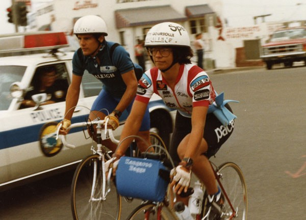 1983 champions Michael Secrest and Kitty Goursolle.
