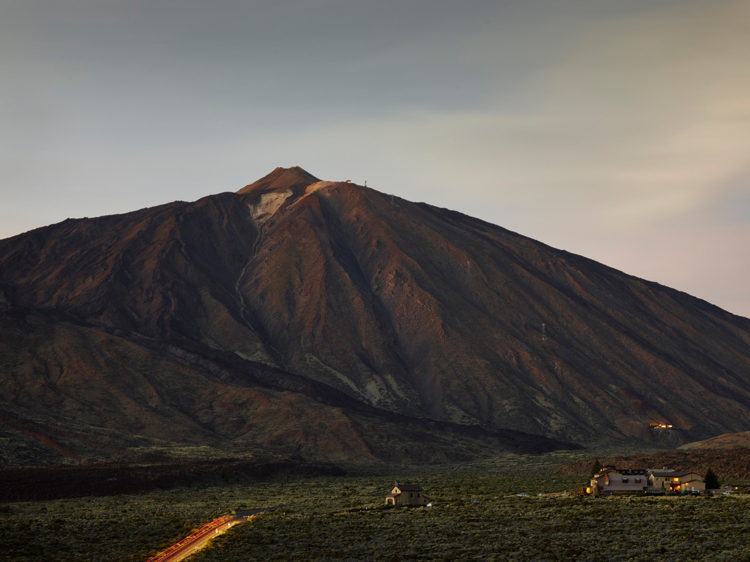 Teide is an enormous, active volcano in the Canary Islands