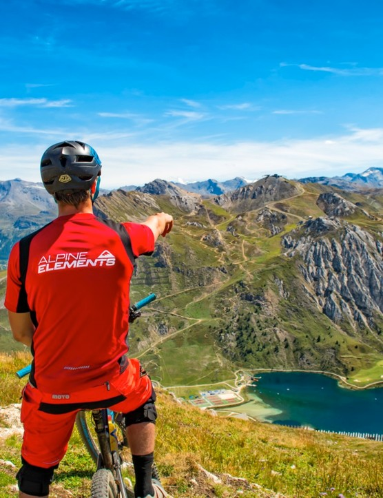 Cycling in the Alps is an unforgettable experience