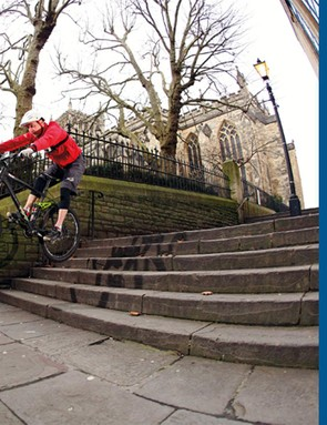Use your commute to hone important mountain bike skills