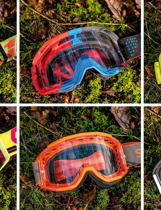 Keep your vision clear and filth free on the descents