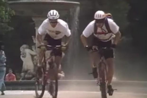 Rigid bikes,  styrofoam helmets, spandex shorts and baggy shirts, the '90s were amazing