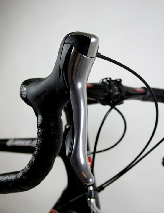 Ultegra Dual Control levers are similar in appearance - and function - to Dura-Ace