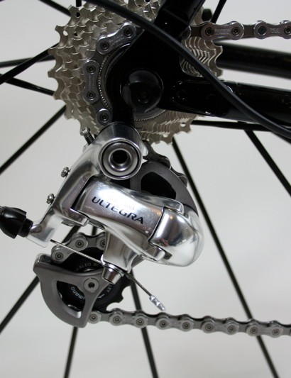 The Ultegra rear derailleur works as surely as you could want